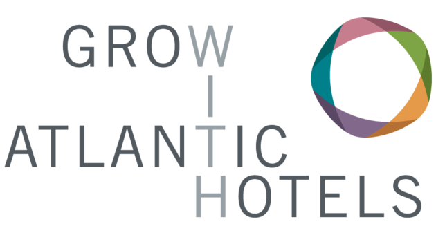 Logo grow with ATLANTIC Hotels